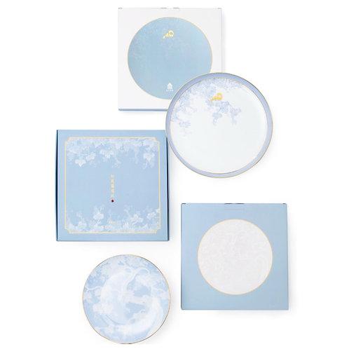 Squirrel & Grape Porcelain Set - Plate Set