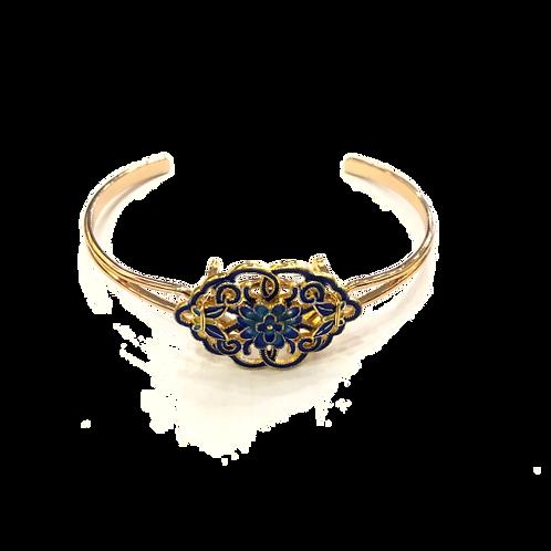 Gold Inlaid Bracelet