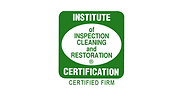 Institute of Inspection Cleaning and Restoration Certified badge.
