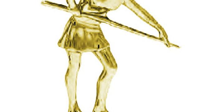 Figura Billar Femenino (10 cm)