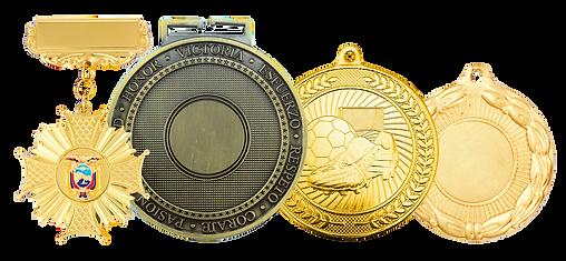 Medallas deportivas, Medallas de condecoración, Medallas de fútbol