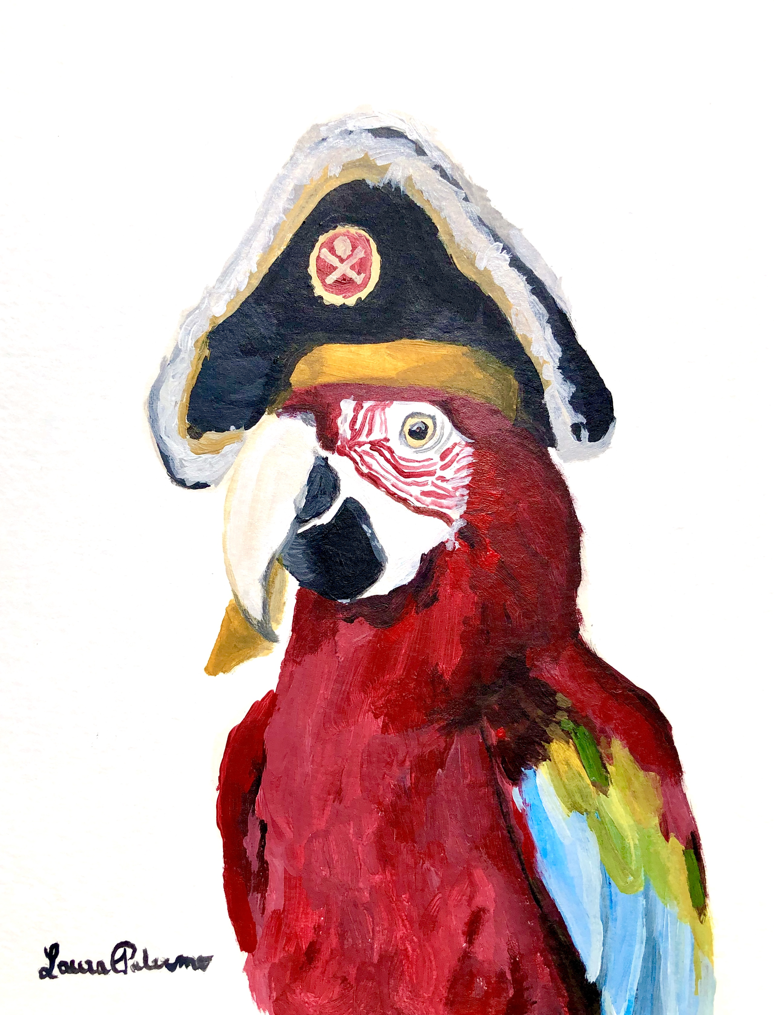 """Pirate Parrot"""