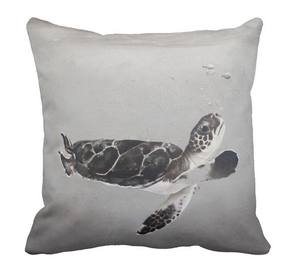 Just Keep Swimming Pillow