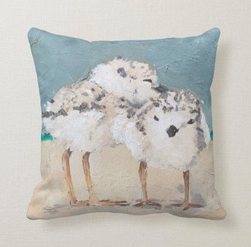 Plover Pillow #2