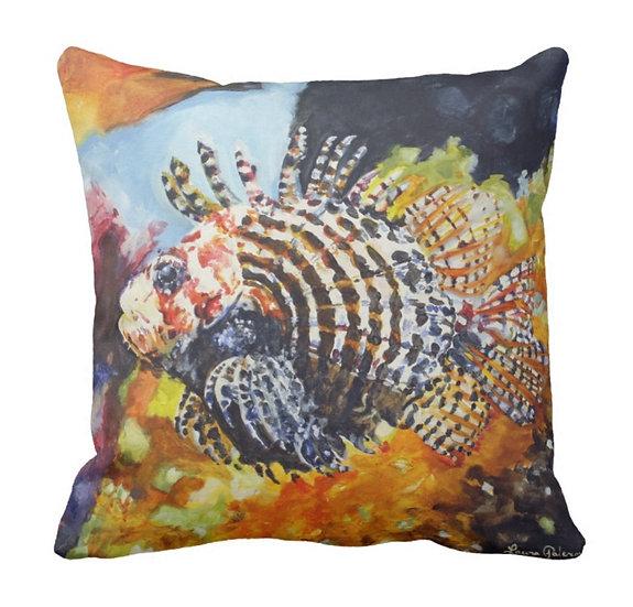 Lion Fish Pillow