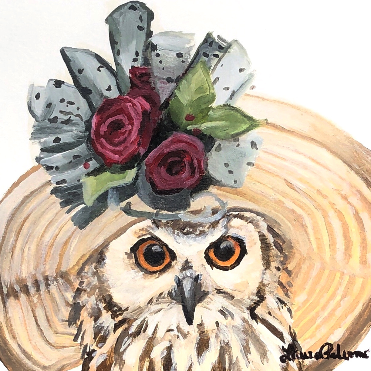 """The Great Hatted Owl"""