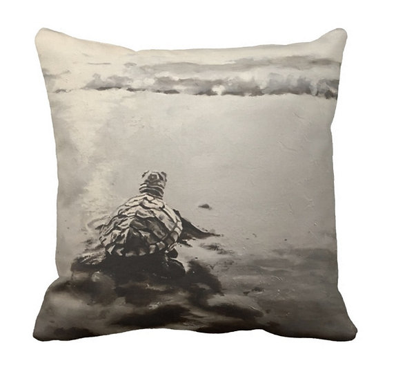 The Journey Ahead Pillow