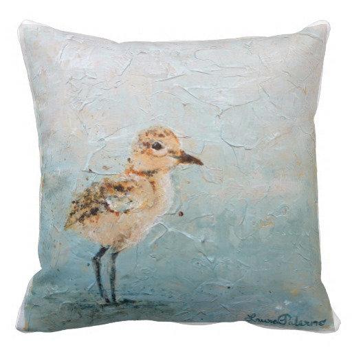 New Zealand Dotterel Pillow