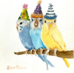 """Party Like A Parakeet"""
