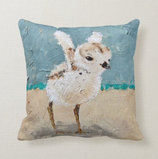Plover Pillow #1
