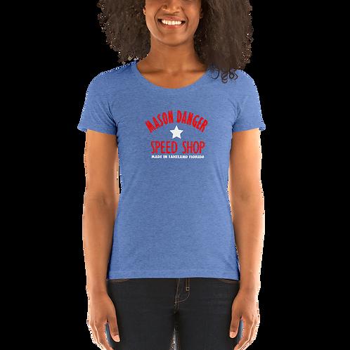 MD SPEED SHOP RWB - Ladies' short sleeve t-shirt
