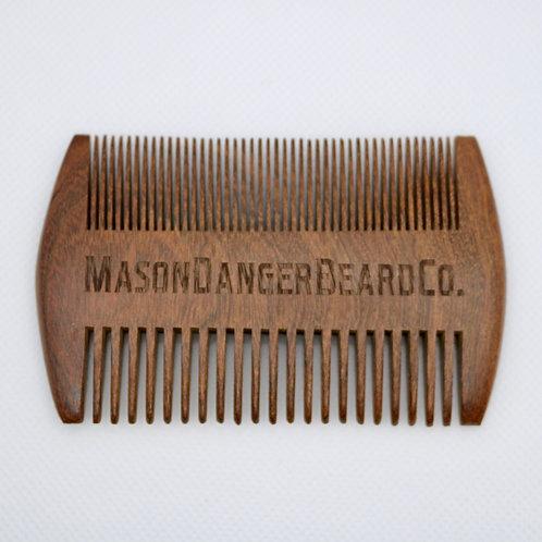 Sandalwood MDBC Beard Comb
