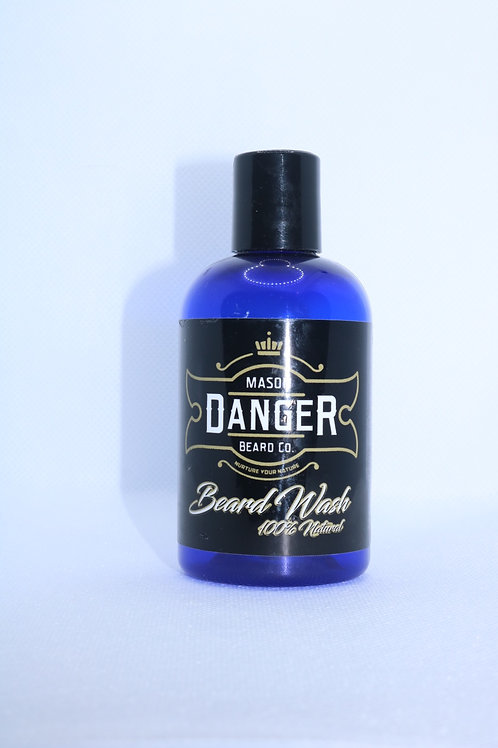 4 oz Natural Beard Wash