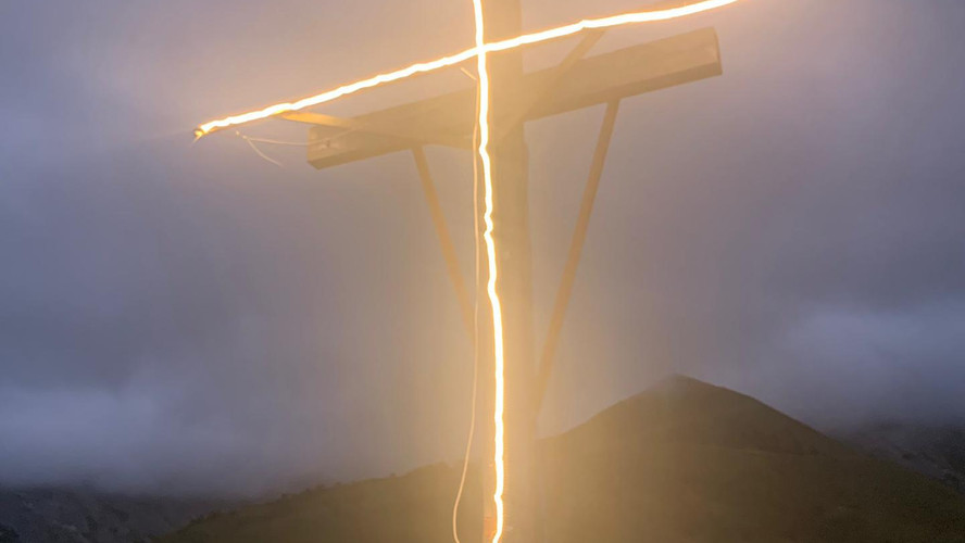 Illumination de la Croix du Cûa