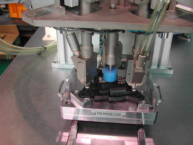 3축 Screw자동체결M.C 체결모습.자동차부품(Actuator)