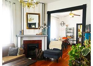 Stylish interior decorating