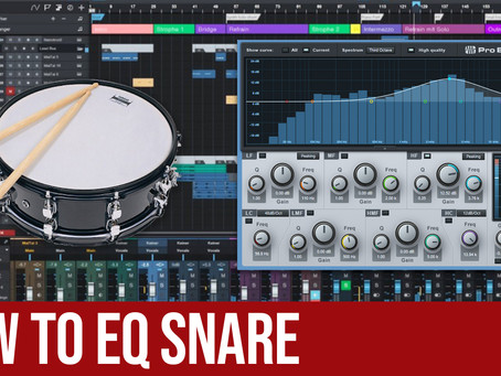 How To EQ Snare in Studio One