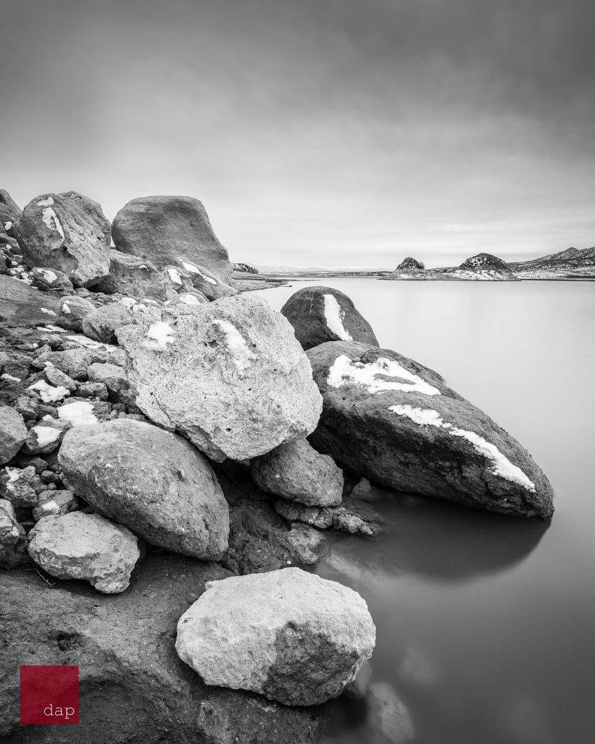 Yuba Lake 32 bw