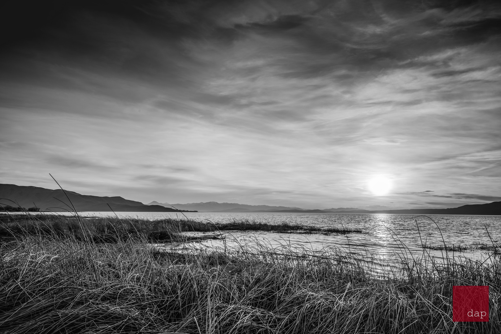 Sandy Beach 88 bw
