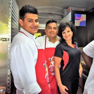 Antonio, John &  Leslie
