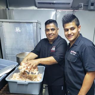 Chef John & son