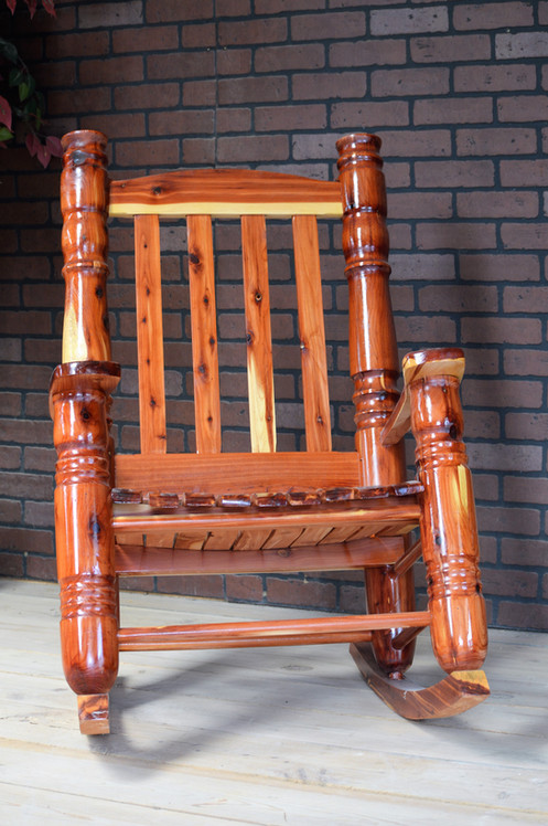 The 4 Cedar Rocking Chair Is A Very High Quality Piece Of Furniture Huge Post And Turnings On Make It Unique Sure To Become