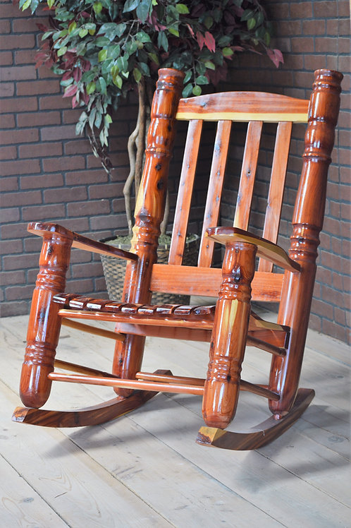 "4"" Cedar Rocking Chair"