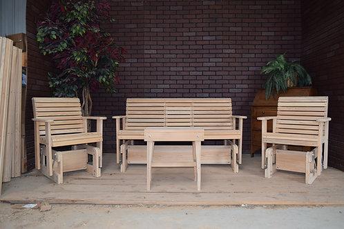 Four Piece Cypress Patio Set
