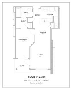 Toscana Floor Plan K