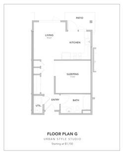 Toscana Floor Plan G