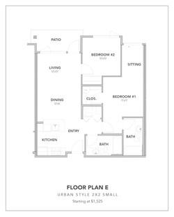 Toscana Floor Plan E