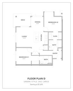 Toscana Floor Plan D