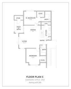 Toscana Floor Plan C