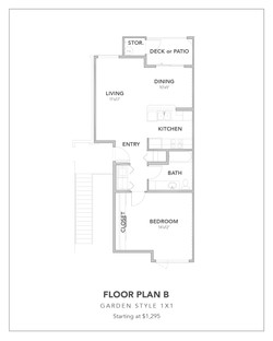 Toscana Floor Plan B