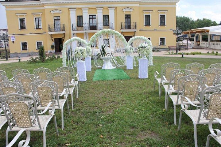 Выездная регистрация брака в усадьбе
