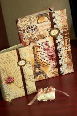 Набор свадебных аксессуаров Письма из Парижа