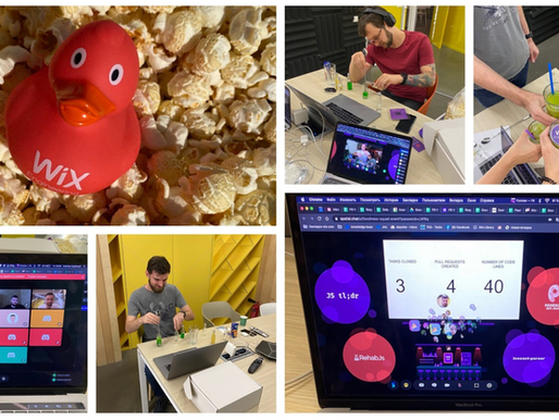 Contributing Code in the Age of COVID-19: How We Came Together For an Open Source Hackathon