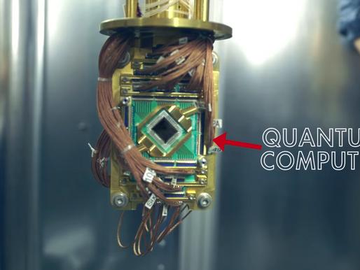 A first look inside Google's futuristic quantum lab