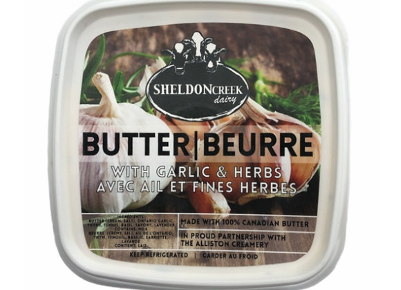 Garlic and Herbs Butter