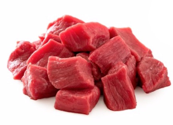 ORGANIC GrassFed Lean Stewing Beef- 1lb (frozen)