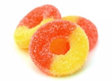 Peach rings 330g