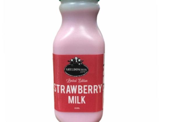 Strawberry Milk- 350ml