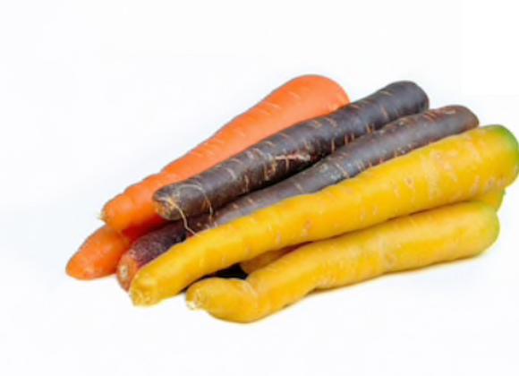Sweet Rainbow Carrots- 2LB