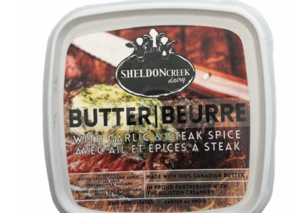 Garlic and Steak spice Butter