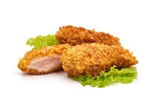 Antibiotic & Hormone Free Breaded Chicken Strips- 500g