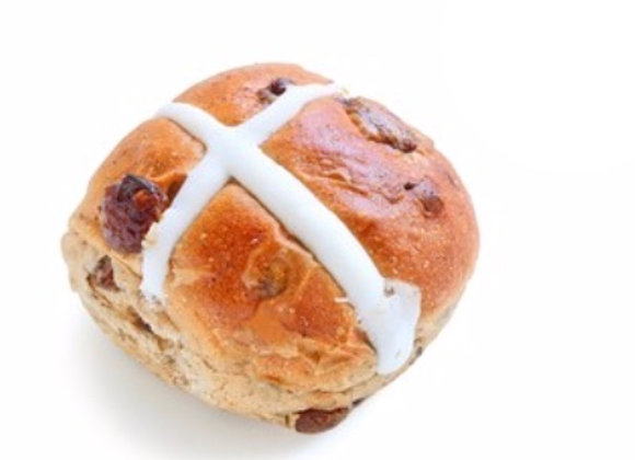 6 Hot Cross Buns- PREORDER FOR SATURDAYS AND SUNDAYS