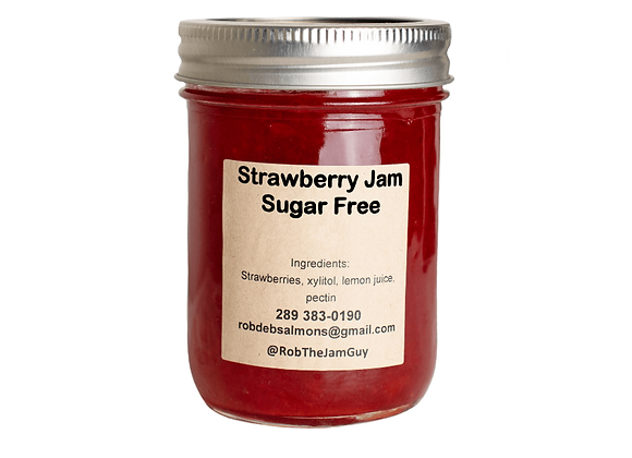 Strawberry SUGARFREE jam-250ml