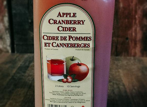 Cranberry Apple Cider 2L