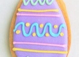 Purple Egg Cookie