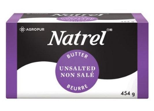 Natrel Unsalted Butter 454g